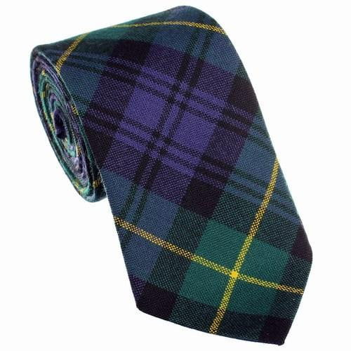 100% Wool Tartan Neck Tie - Gordon Modern