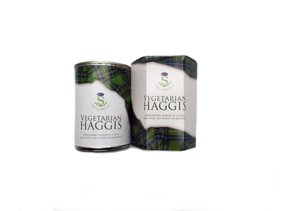 Traditional Tinned Vegetarian Scotch Haggis