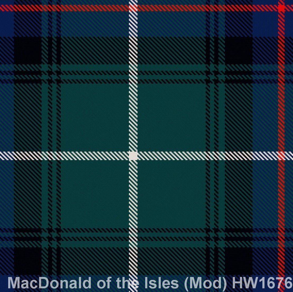MacDonald Lord of the Isles Modern
