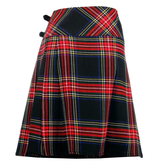 Ladies Acrylic Knee Length Kilt - 6 Colours