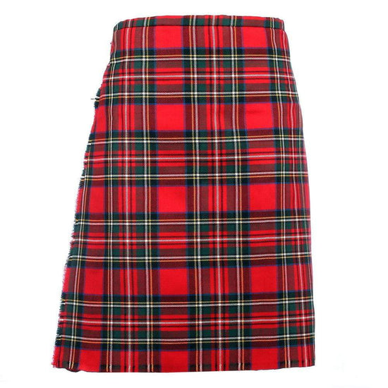 Men's 8 Yard Kilt - 100% 13oz Wool - Royal Stewart - Instock