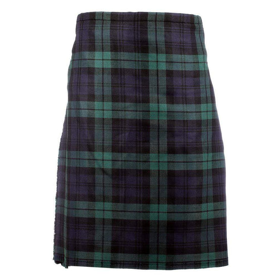 Men's 8 Yard Kilt - 100% 13oz Wool - Black Watch - Instock