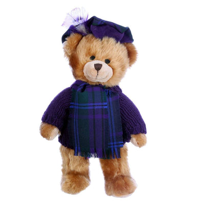 Hand Made Plush Teddy Bear  in 500 Tartans - Made to Order