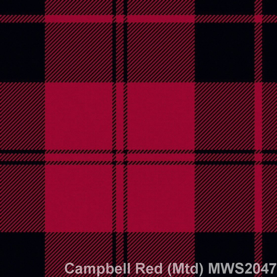 Campbell Red Muted