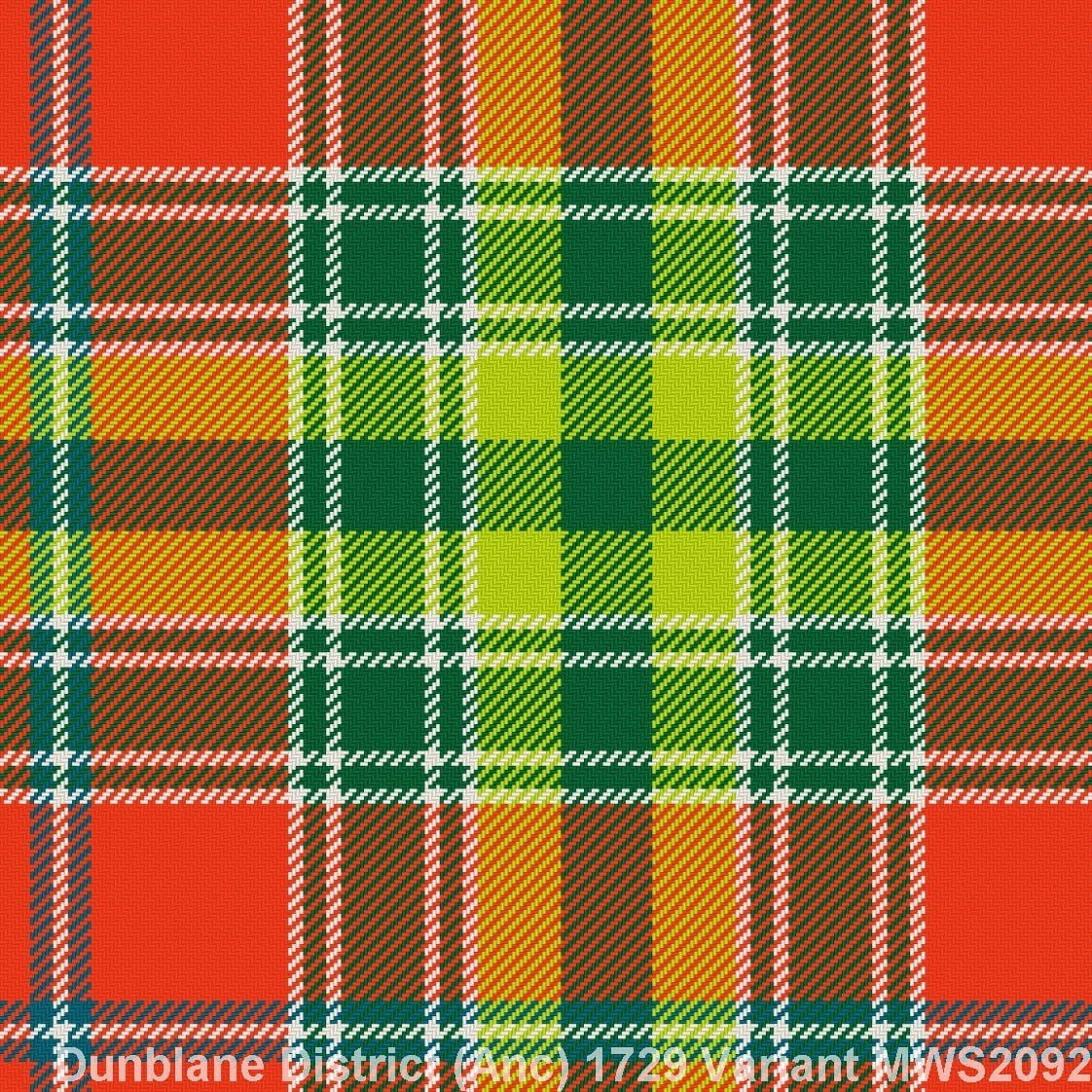 Dunblane District Ancient 1729 Variant