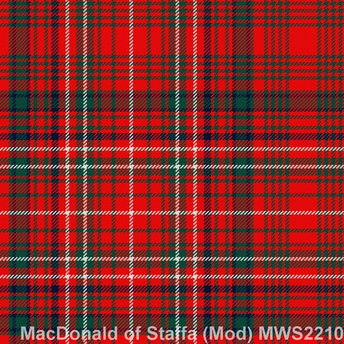 MacDonald of Staffa Modern