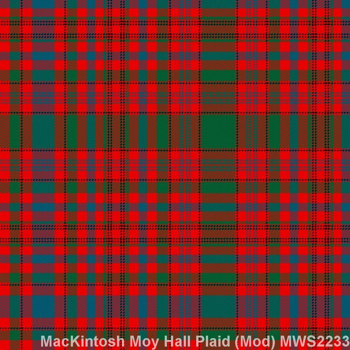 MacKintosh Moy Hall Plaid Modern
