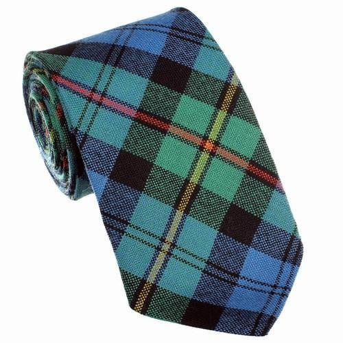 100% Wool Tartan Neck Tie - MacEwan Ancient