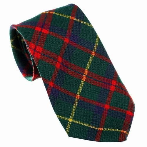 100% Wool Tartan Neck Tie - MacIntosh Hunting Modern