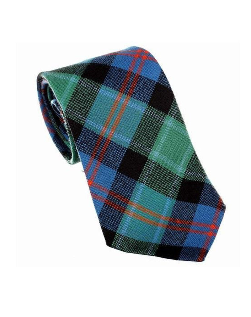100% Wool Tartan Neck Tie - MacTaggart Ancient