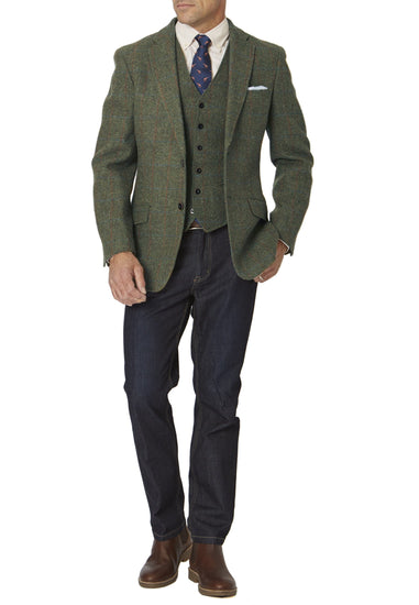 Men's Harris Tweed Jacket - Sollas