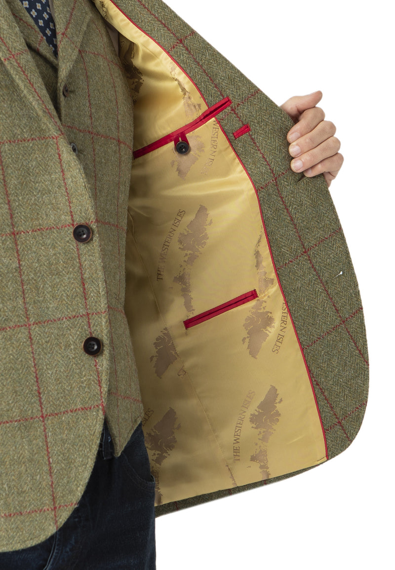 Men's Harris Tweed Jacket - Valtos - New for 2020