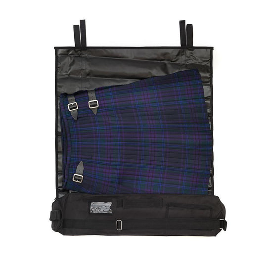 Poly Kilt Carrier Travel Bag in Black