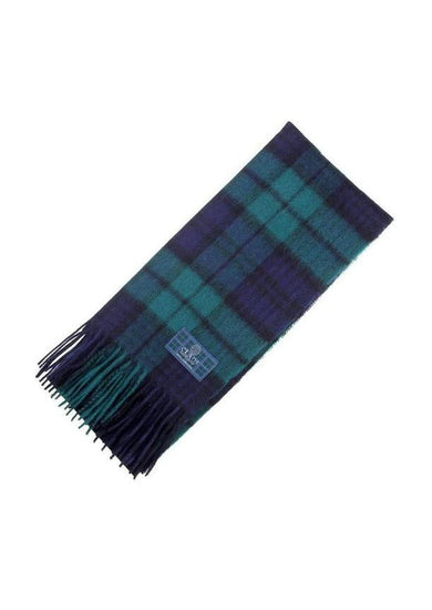 Clan Tartan Scarf - Black Watch Modern
