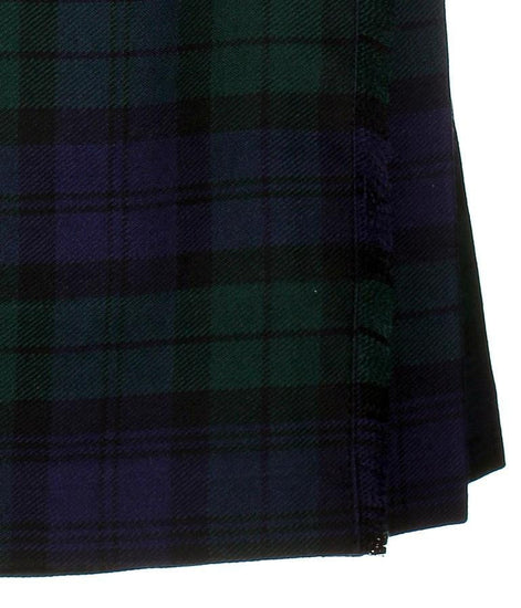 Kids Polyviscose Kilt, Black Watch