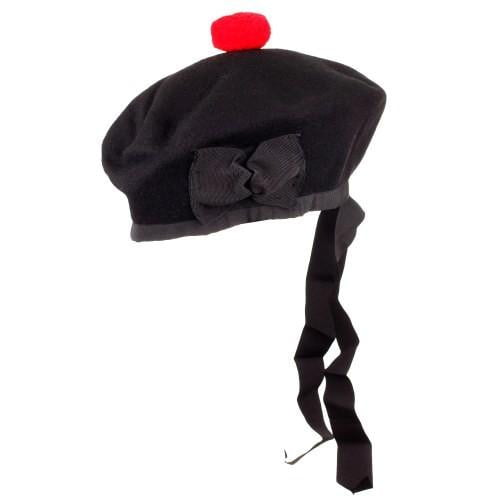 Black Balmoral Bonnet