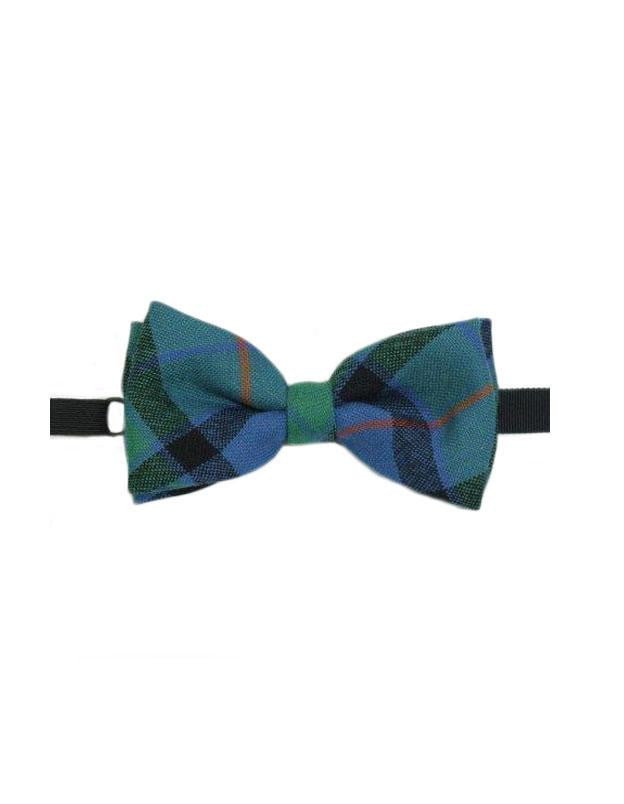 100% Wool Tartan Bow Tie - Flower of Scotland