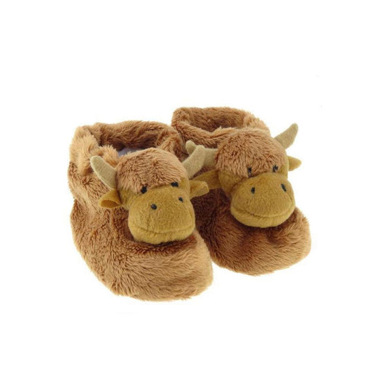 Children's Highland Cow Booties