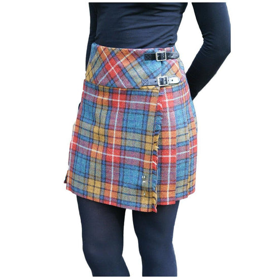 Shetland Wool Ladies Billie Kilt - Isobel - Buchanan