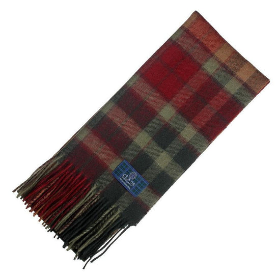 Clan Tartan Scarf - Buchanan Autumn