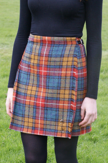 Shetland Wool Ladies Kilt - Flora - Buchanan Antique