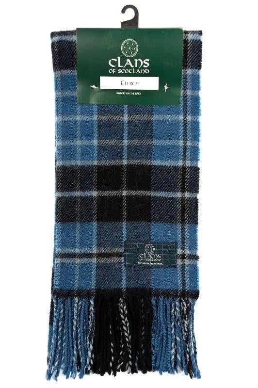Clan Tartan Scarf - Clergy Ancient