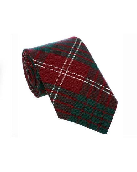100% Wool Tartan Neck Tie - Crawford Modern