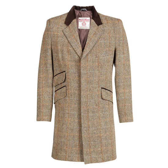 Genuine Mens Harris Tweed Cromby Jacket - Hamish