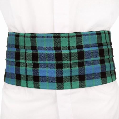 Gents Tartan Cummerbund - Made to Order