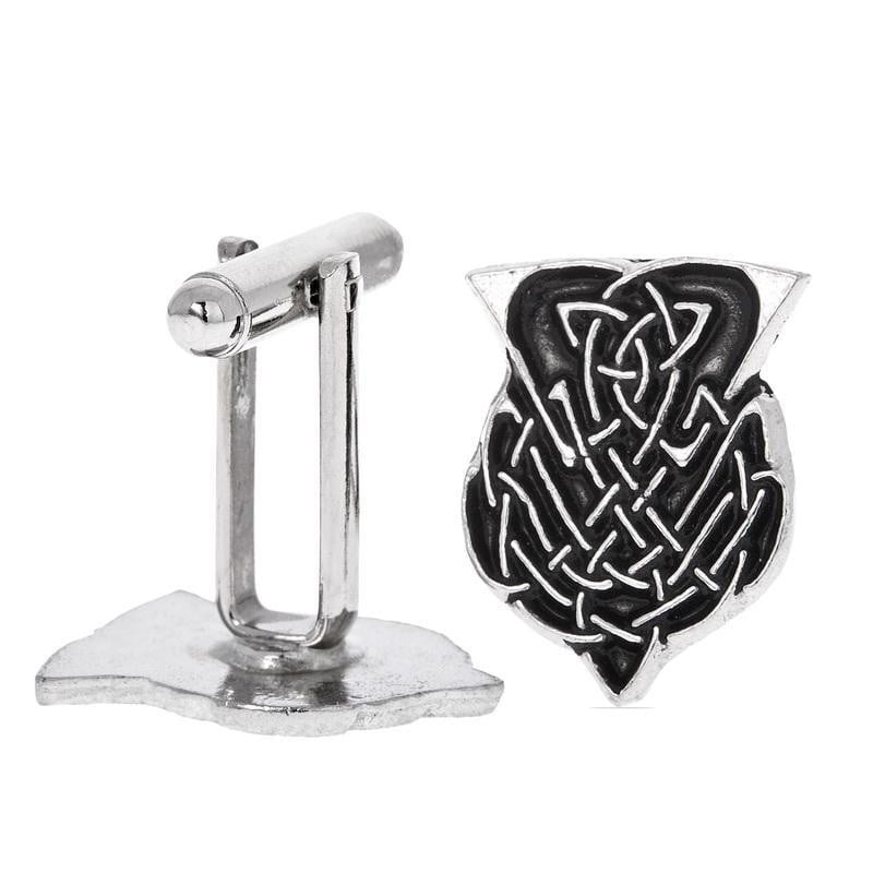 Cut Out Thistle Cufflinks