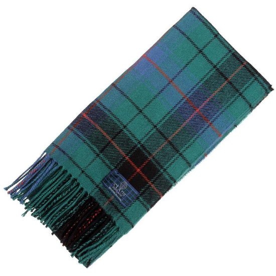 Clan Tartan Scarf - Davidson Ancient