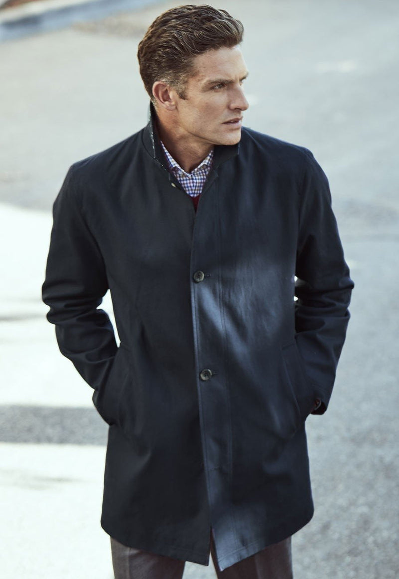 Defender Raincoat by Brook Taverner