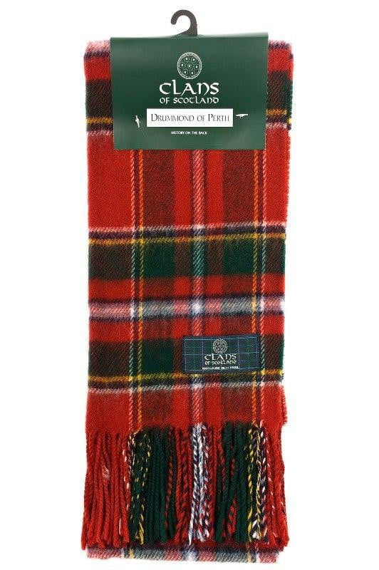 Clan Tartan Scarf - Drummond of Perth Modern