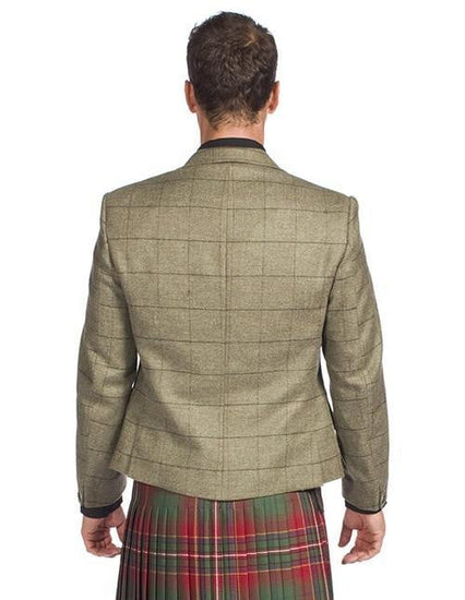 Luxury Estate Tweed Kilt Jacket with 5 Button Waistcoat Made to Order