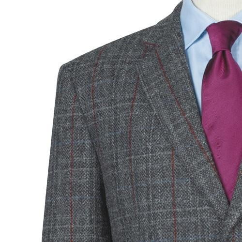 Mens Lightweight Genuine Scottish Harris Tweed Wool Jacket - Fergus