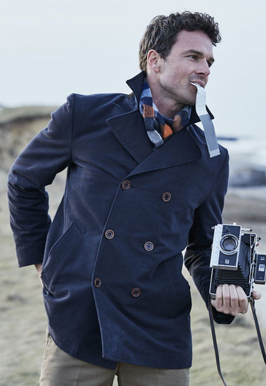Gilpin DB Reefer Moleskin Jacket by Brook Taverner