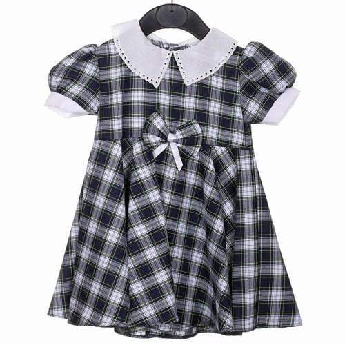 Cotton Dress with bow, Gordon Dress