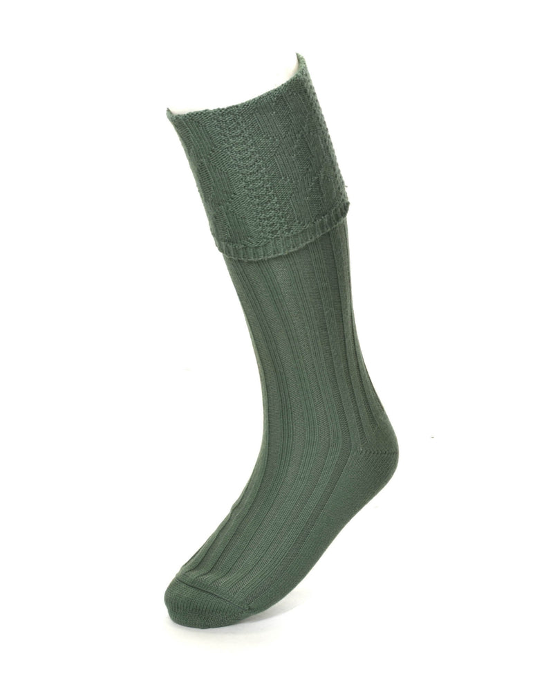 House of Cheviot Glenmore Hose - Ancient Green