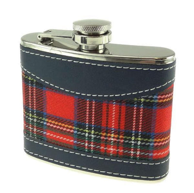 4oz Royal Stewart Hip Flask