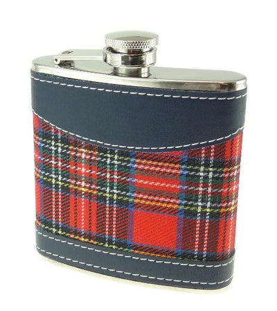 6oz Royal Stewart Hip Flask