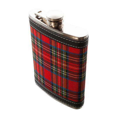 8oz Royal Stewart Hip Flask