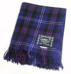 Wool Tartan Rug - Heritage of Scotland