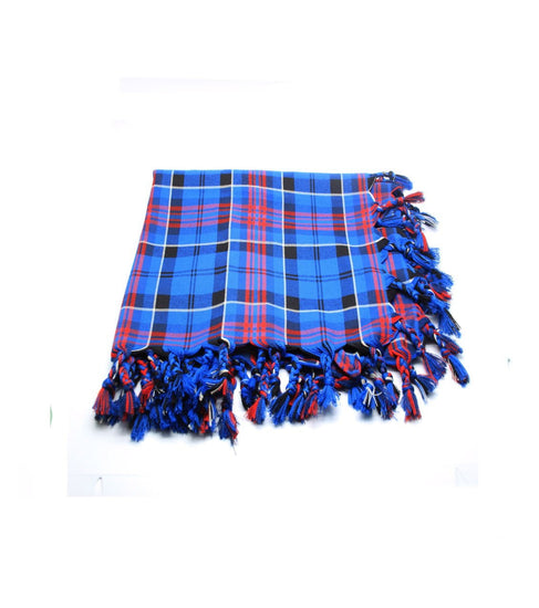 Deluxe Polyviscose Tartan Fly Plaid - Ibrox District