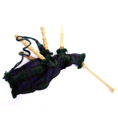 Junior Tartan Bagpipes - Black Watch