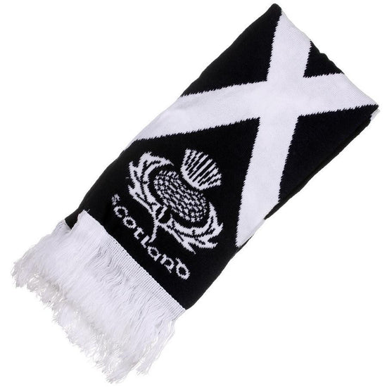 Scotland Rugby Nations Team Scarf with Thistle/Saltire