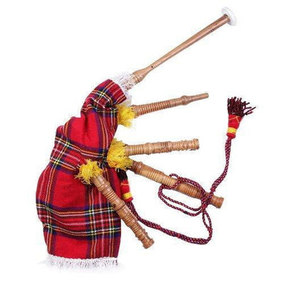 Junior Royal Stewart Tartan Bagpipes