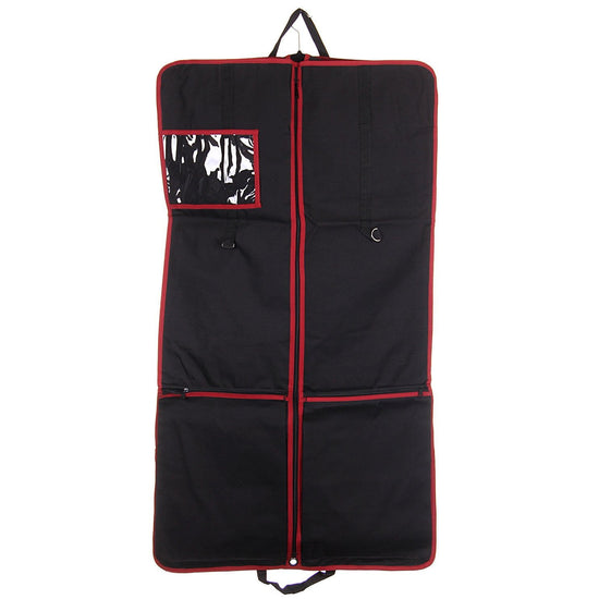 Complete Kilt Outfit Carrier including Kilt Roll - Red Trim