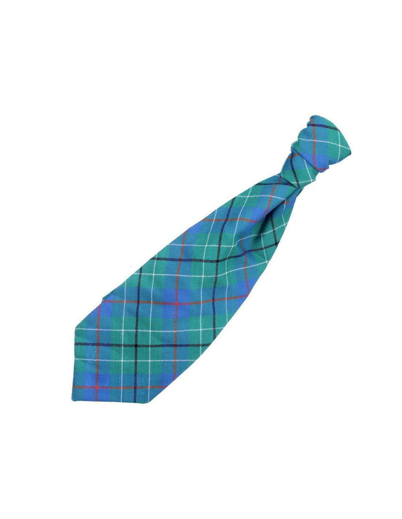 Gents Pre-Tied Ruche Tie - Made to Order (500 Tartans)