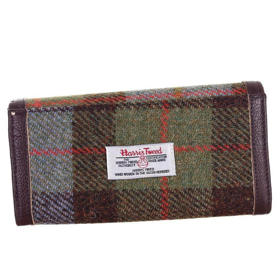 Harris Tweed Long Wallet - Bute