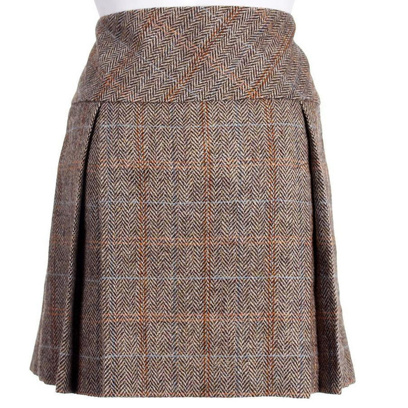 Ladies Tweed Made to Measure Carrie Box Style Kilt
